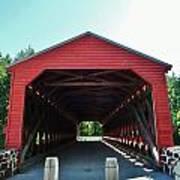 Sachs Covered Bridge 3 Art Print