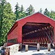 Sachs Covered Bridge 4 Art Print