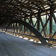Saco River Covered Bridge Nh Art Print