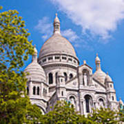 Sacre Coeur Basilica Paris France Art Print
