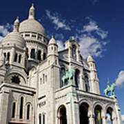 Sacre Coeur Paris Art Print