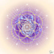 Sacred Geometry 140 Art Print