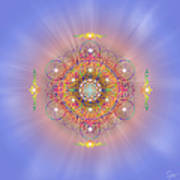 Sacred Geometry 156 Art Print