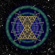 Sacred Geometry 181 Art Print