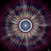 Sacred Geometry 317 Art Print