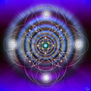 Sacred Geometry 369 Art Print