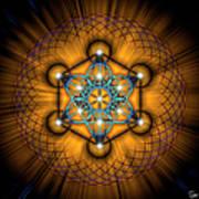 Sacred Geometry 68 Art Print