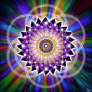 Sacred Geometry 74 Art Print