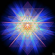 Sacred Geometry 88 Art Print
