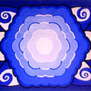 Sacred Geometry Mandala Art Print