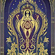 Sacred Mother - Global Goddess Series Art Print by Cristina McAllister