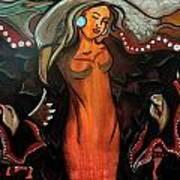 Sacred Prayer Dance Art Print