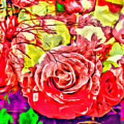 Sacred Roses Art Print
