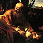 Sacrifice Of Issac Art Print