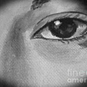 Sad Eye Art Print