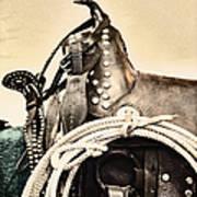 Saddle Art Print
