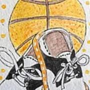 Saddle Oxfords And Basketball Art Print