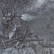 Saddle Sniper Art Print
