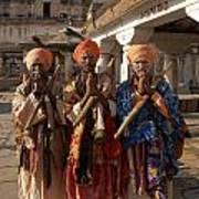 Sadus Holy Men Of India Art Print