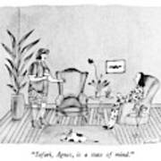 Safari, Agnes, Is A State Of Mind Art Print