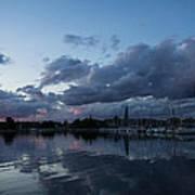 Safe Harbor After The Storm Art Print by Georgia Mizuleva