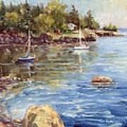 Safe Harbor - Oak Point Art Print