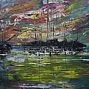 Safe Harbour Art Print