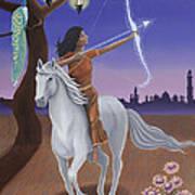 Sagittarius / Saraswati Art Print