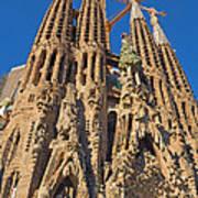 Sagrada Familia In Barcelona Art Print