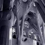 Sagrada Familia Vault Art Print