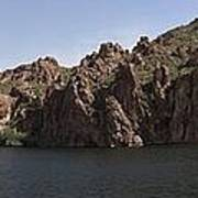 Saguaro Lake Art Print