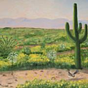 Saguaro Monument Art Print