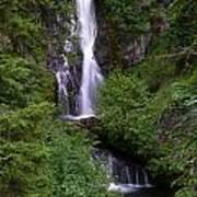 Sahale Falls In Oregon Art Print