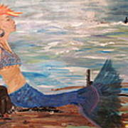 Sahbreena Punk Mermaid Art Print