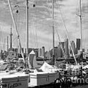Sail Boats Toronto On Art Print