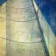 Sail Texture Art Print