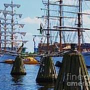 Sailabration Baltimore Art Print