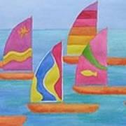 Sailabration Art Print
