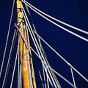 Sailboat Lines Art Print