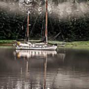 Sailboat Reflection Art Print