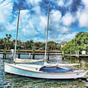 Sailboat Series 01 Art Print
