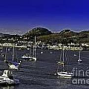 Sailing Conwy Harbor Art Print