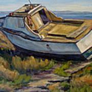 Sailing Days Over Art Print