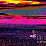 Sailing Home After Long At Sea Art Print