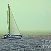 Sailing Home Art Print