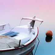 Sailing In A Sea Of Colors  Art Print