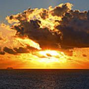 Sailing Into The Sunrise Art Print