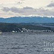 Sailing Lake Taupo Art Print
