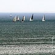 Sailing On Lake Erie Art Print
