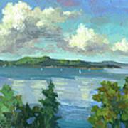 Sailing On Puget Sound Art Print